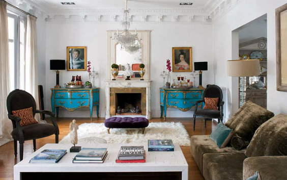 Salon clásico vintage ideas e inspiración