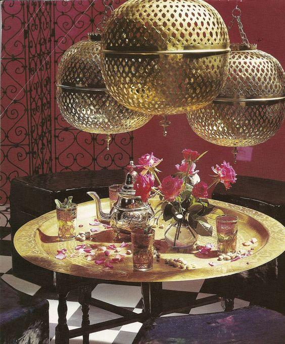 Salón de té marroquí ideas y decoración