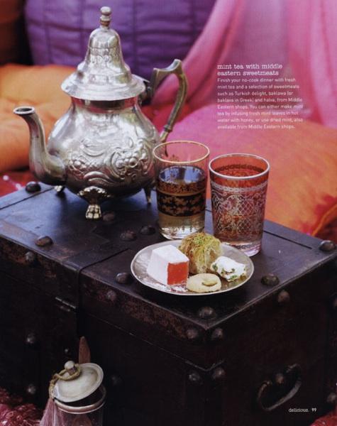 Salón Marroquí: Juegos de té