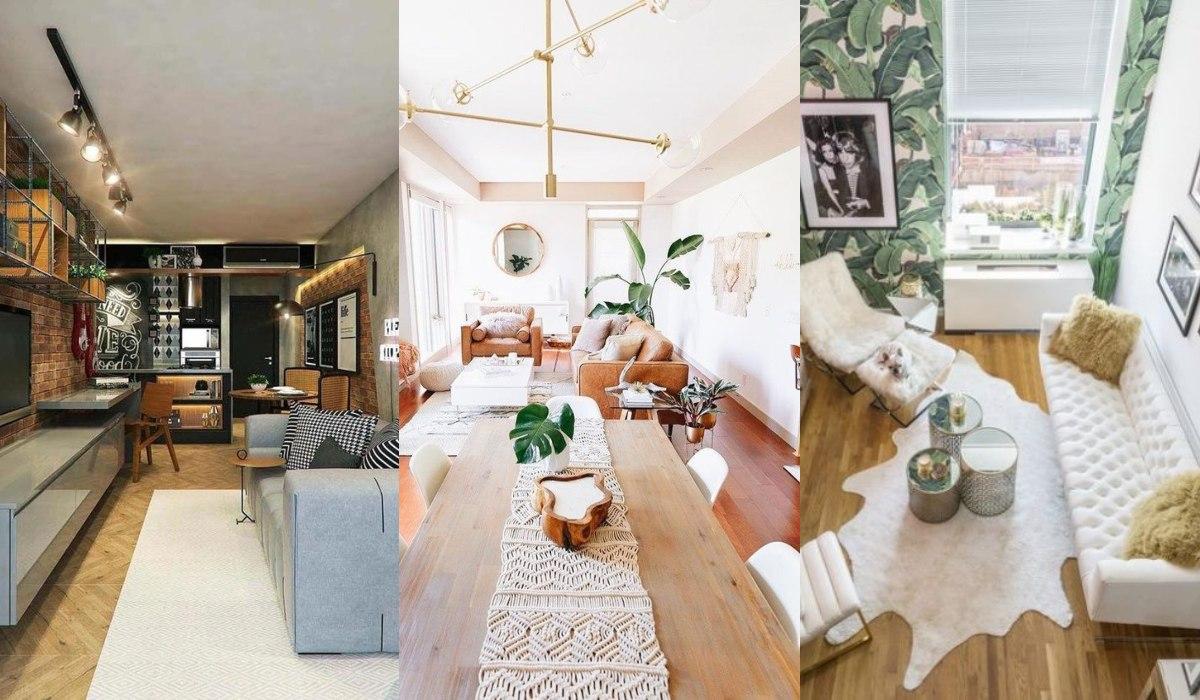 Cómo decorar salones alargados Consejos y fotos