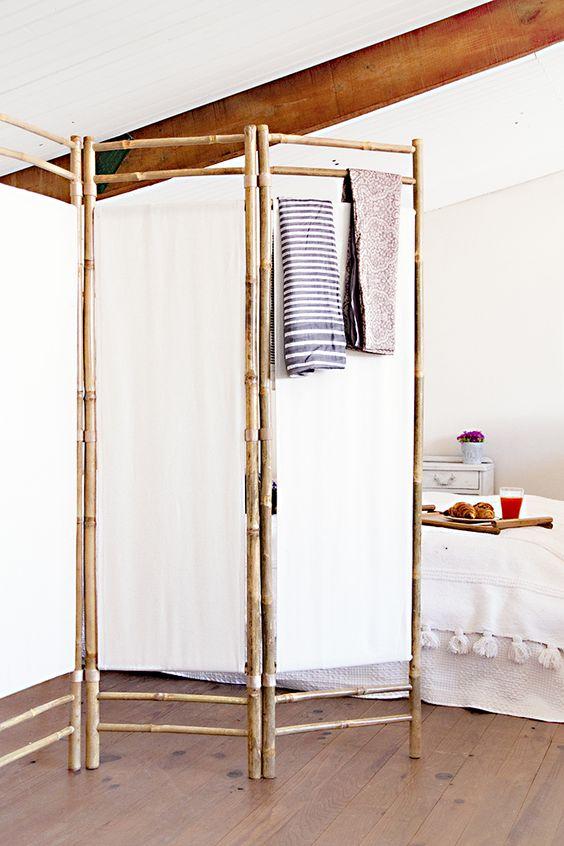Separar ambientes con un biombo decoraci n hogar - Biombos separadores de espacios ...