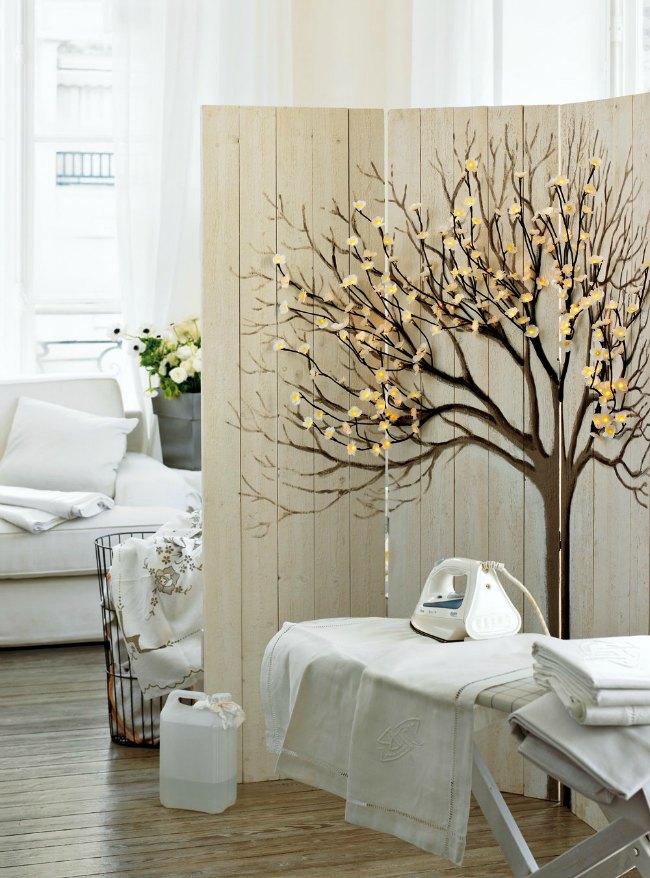 Separar ambientes con un biombo decoraci n hogar - Decoracion con biombos ...