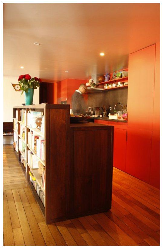 Ideas para separar la cocina del sal n for Divisiones para sala y cocina