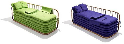 Un sofá o seis camas
