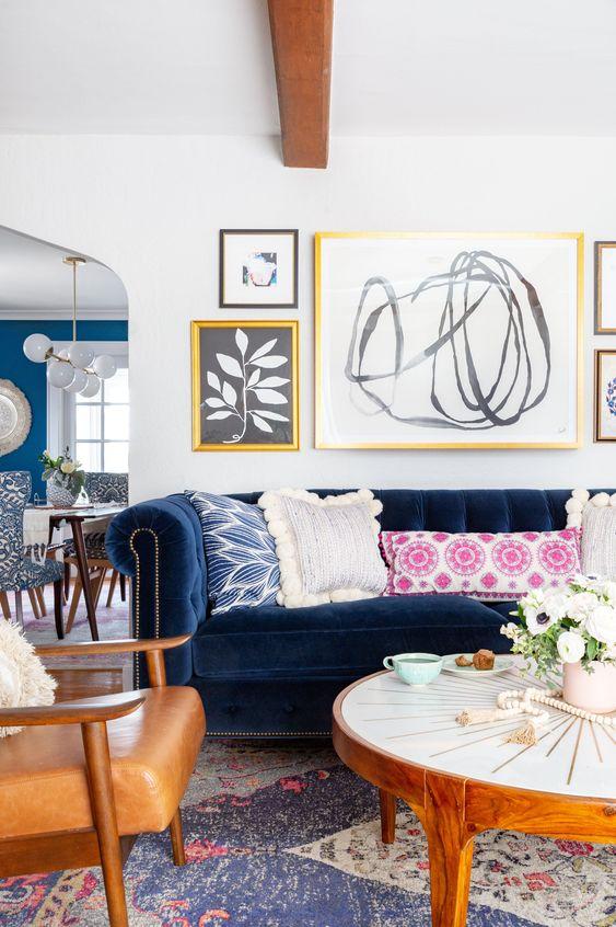 Sofa chester salón