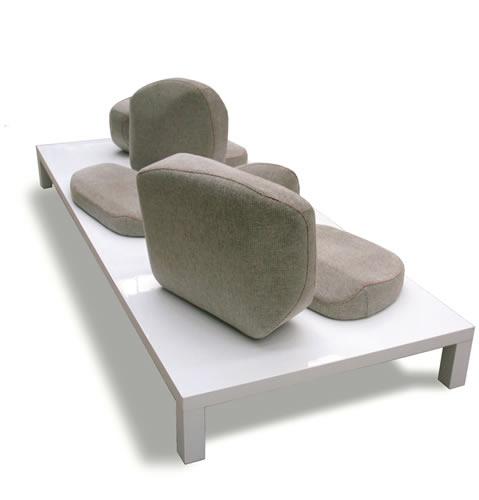 Sofá de diseño, Composite de Uno-Design