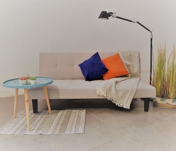 Sofa cama libro salón