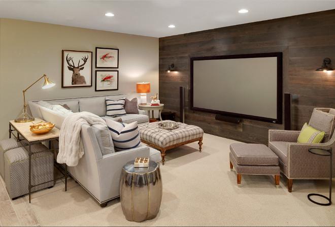 Una habitación familiar en el sótano