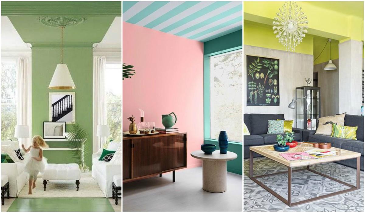 Techos protagonistas de la decoración +40 Fotos de techos decorados