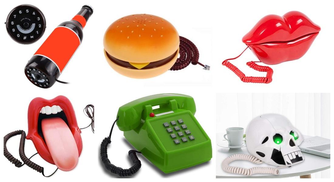Teléfonos fijos originales ¡Para todos los gustos!