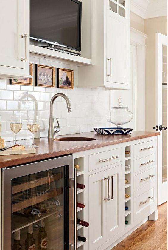 TV armario cocina