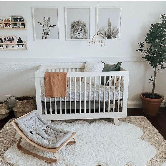 Decoración habitación bebé 2019 Ideas, tendencias, fotos