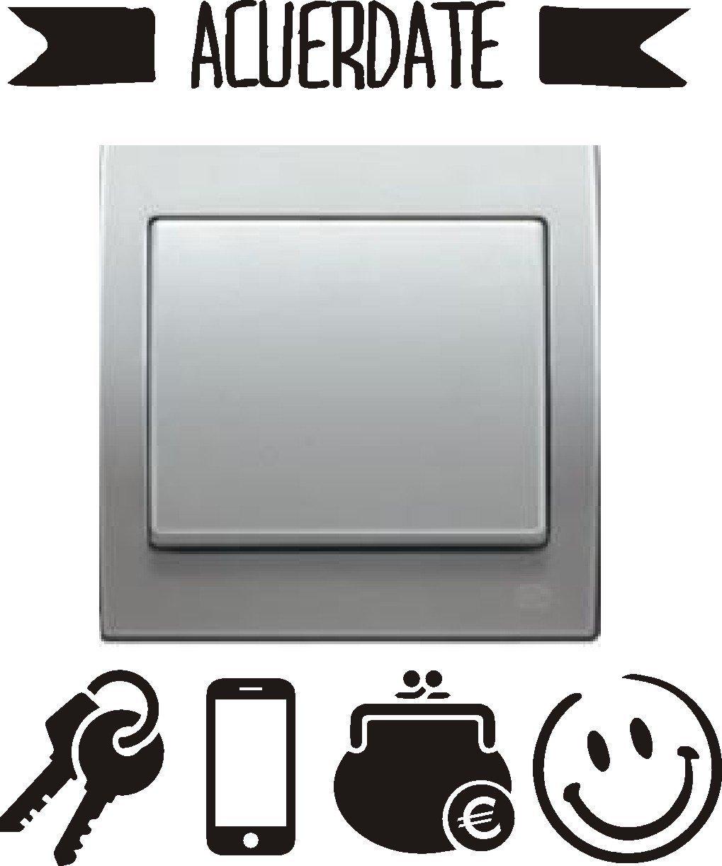 Vinilos para interruptores con un toque de humor