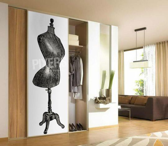 Vinilos para armarios for Pegatinas de decoracion para dormitorios