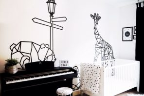 10 Ideas de decoración infantil con washi tape