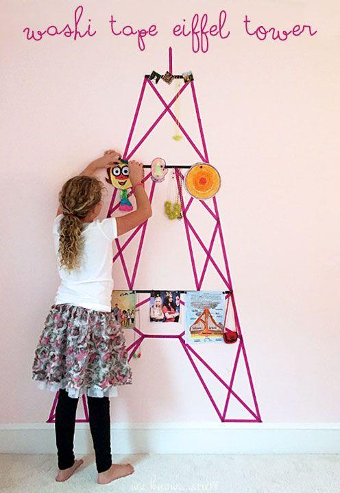 Washi tape decoración niños