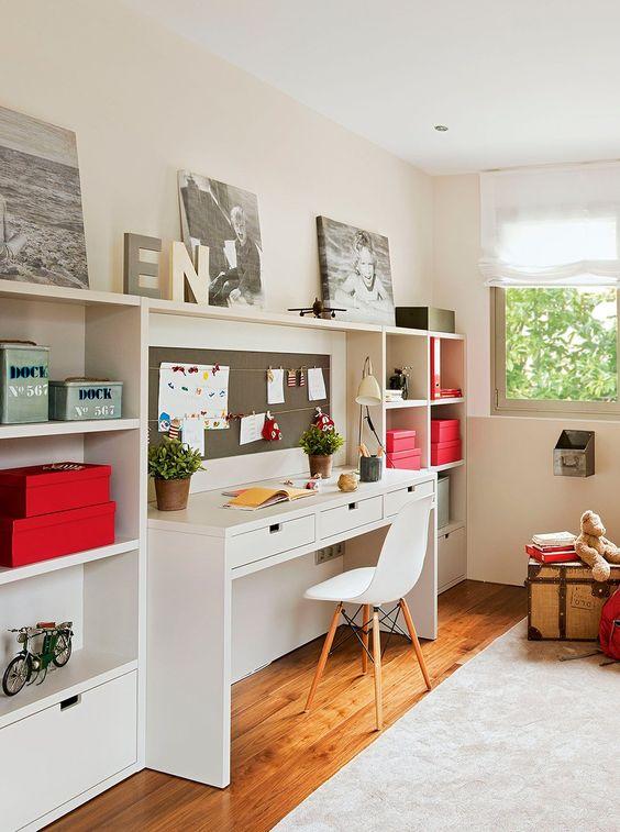 Organizar la zona de estudio decoraci n hogar for Zona de estudio