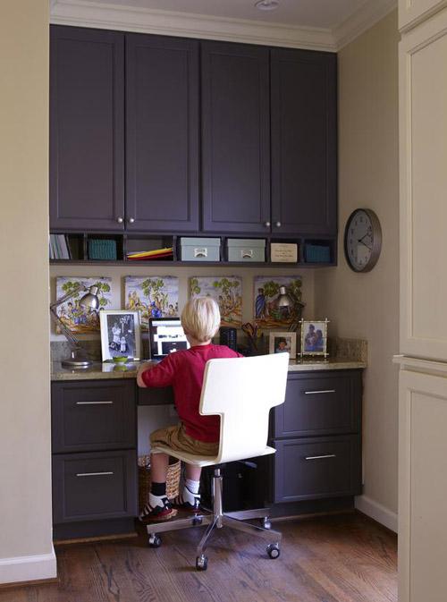 Organizando zonas de trabajo: la impresora